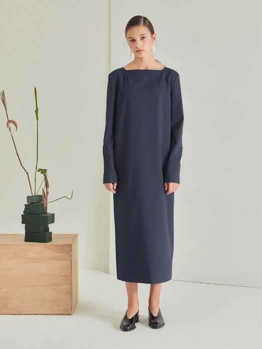 [HEINIQUE] Boatneck dress